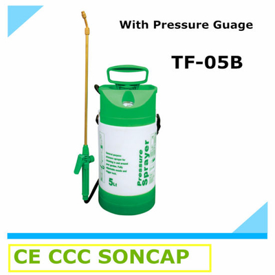 5 Liter Small Plastic Air Pressure Hand Sprayer for Farm and Garden (TF-05B)
