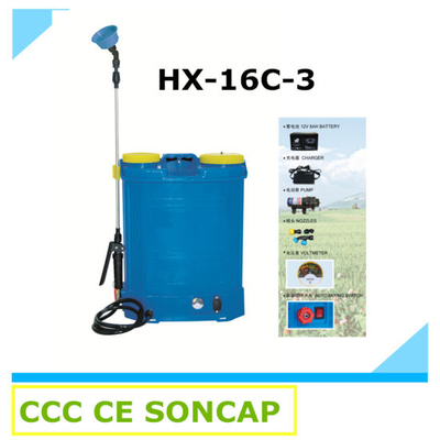 Auto Mixing Electric Agricultural Knapsack Power Sprayer with Pump (HX-16C-3)