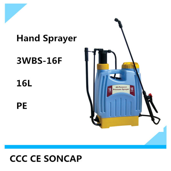 16L Knapsack Agricultural and Fruit Tree Hand Sparyer Price (3WBS-16F)