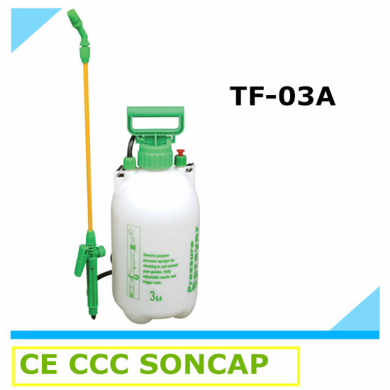 3 Liter Small Plastic Knapsack Air Pressure Garden Sprayer (TF-03A)