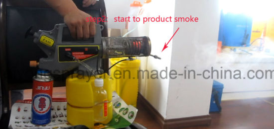 Small Fog Machine for Mosquitoes and Bees