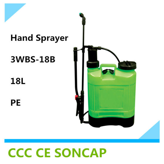 2016 New Style Agricultural Knapasck Manual Sprayer (3WBS-18B)