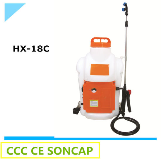 Plant Knapsack Agricultural Battery Sprayer Price (HX-18C)